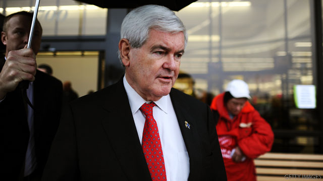 Gingrich gets &#039;occupied&#039;
