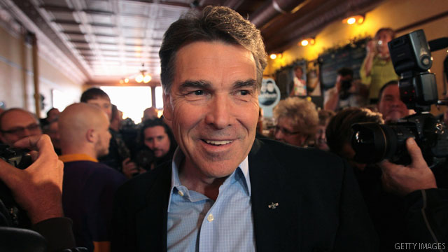 Perry: Republican race is far from over