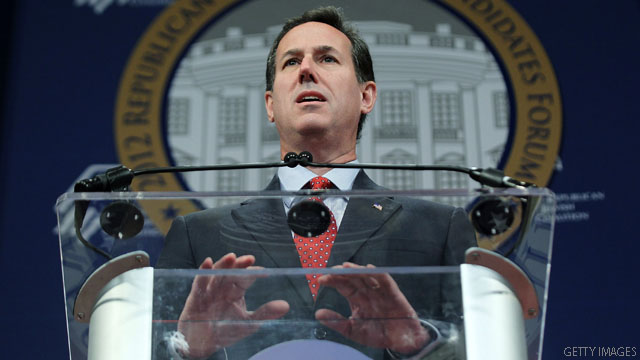 Santorum: Faith leader asked me, others to consider dropping out