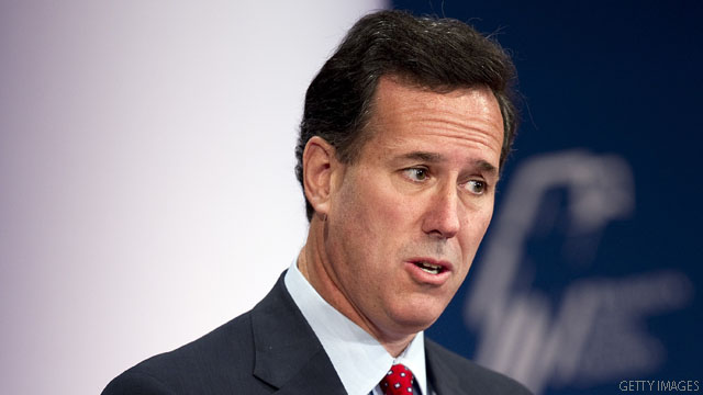Santorum: Vander Plaats said 'he needed money to promote the endorsement'