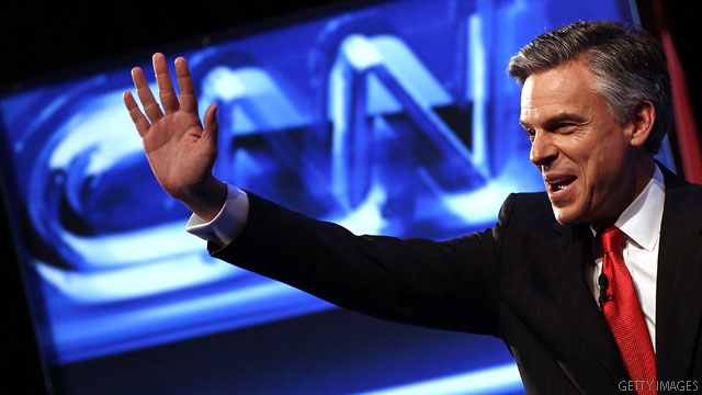 Huntsman wins endorsement from N.H. paper