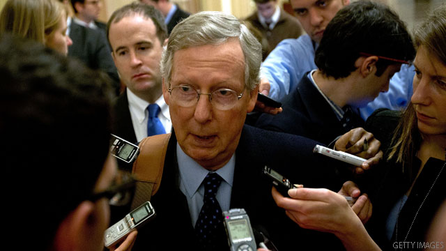 Online ad targets McConnell over fiscal cliff deal