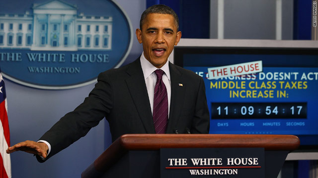 President Obama to address payroll tax cut extension