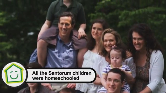 Santorum gets 'Pop Up' treatment