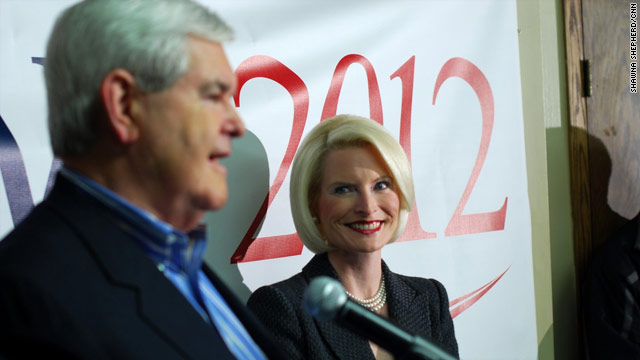 Callista Gingrich makes rare campaign remarks