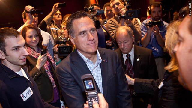 Romney: Gingrich camp like Lucille Ball