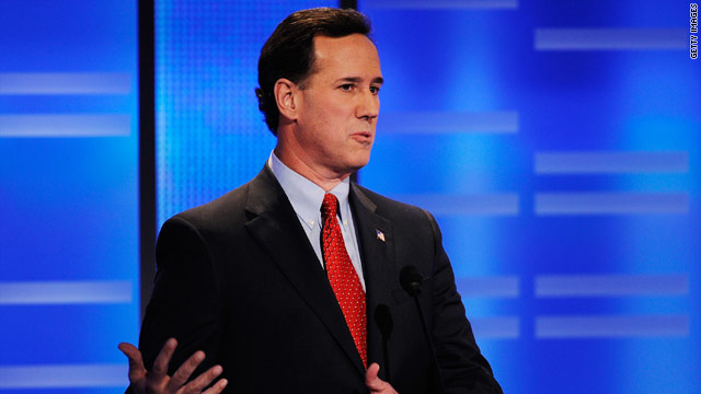 Santorum&#039;s South Carolina closer