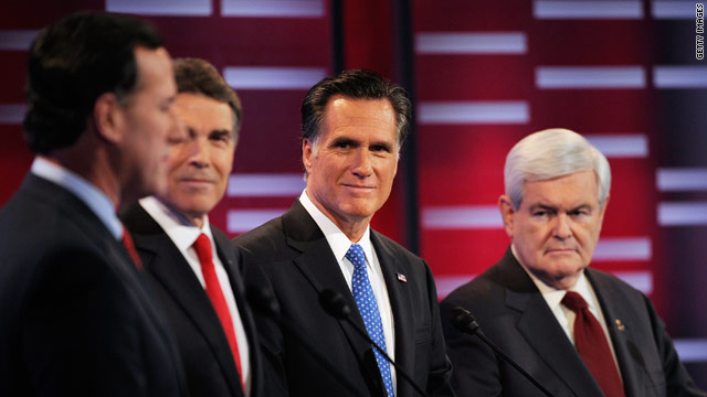 CNN Poll: Romney on top, Gingrich fading &amp; Santorum rising in Iowa