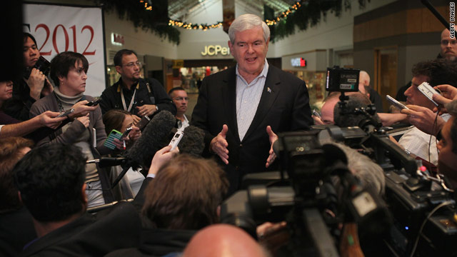 Gingrich having it both ways?