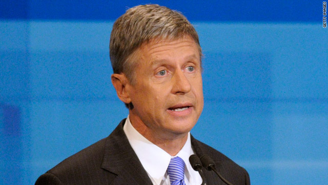 Gary Johnson a 'nonfactor,' Priebus says