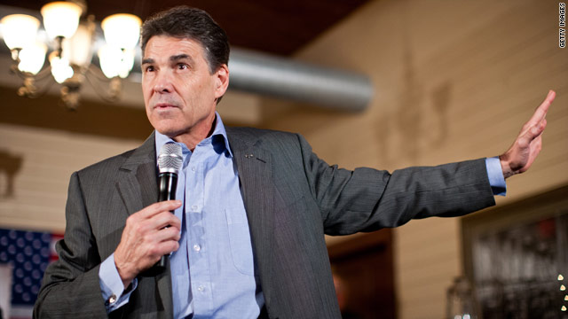 Perry blew through cash in final months of campaign