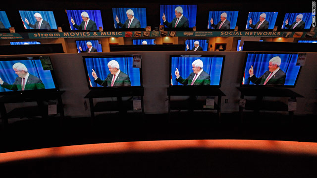 Nearly half of Iowa ads attack Gingrich