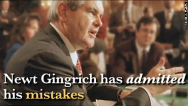 Pro-Romney group launches new attack ad on Gingrich