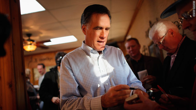 Romney tight-lipped on big day
