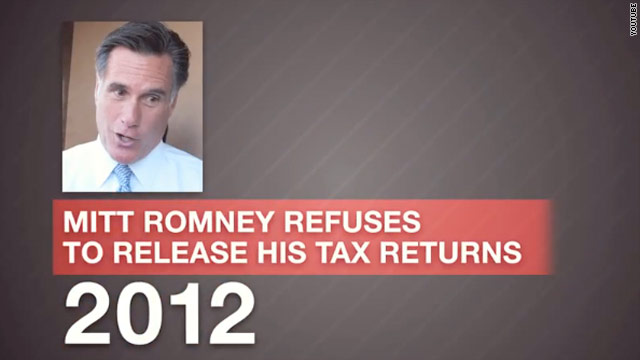 DNC video asks 'What is Mitt Romney hiding' in tax returns
