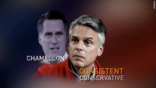 Pro-Huntsman super PAC calls Romney a 'chameleon'