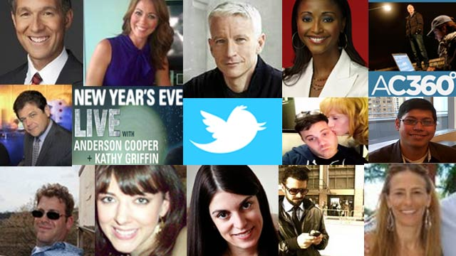 Who you should follow on New Year's Eve