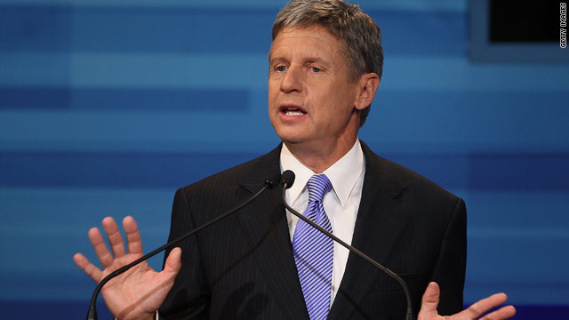 Gary Johnson wins Libertarian Party presidential nomination