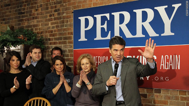 Perry bets Iowa fortunes on robust ground game