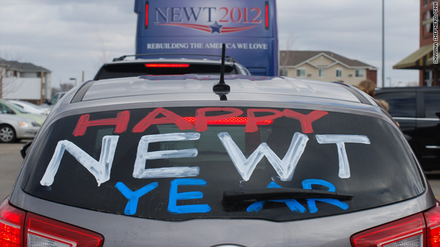 PHOTO: Happy 'Newt' Year