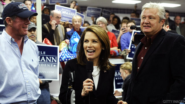 Bachmann heads to South Carolina, post-Iowa