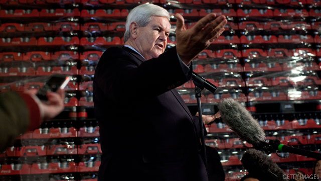 Gingrich: I was &#039;Romney-boated&#039;