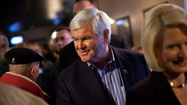 Gingrich mulls strategy shift after Iowa