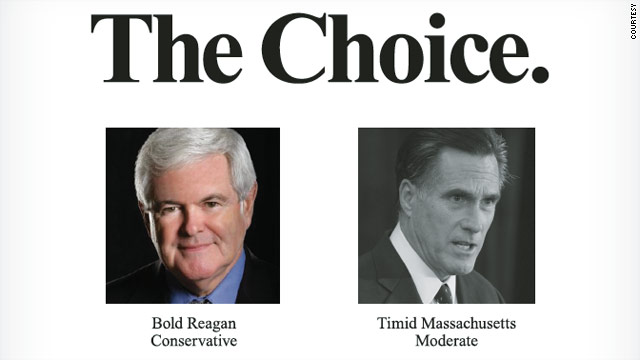 Gingrich to target Romney in N.H. ad