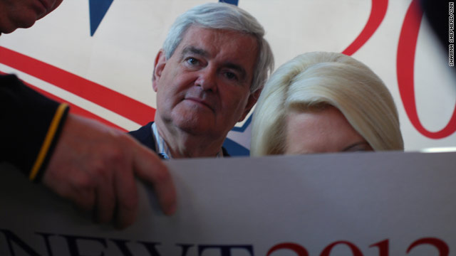 Gingrich urges vote against negative ads