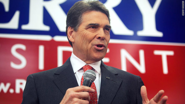 Perry&#039;s 50 state campaign