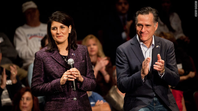 Nikki Haley to campaign with Romney in New Hampshire