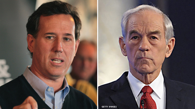 Santorum's nephew backs Rep. Paul
