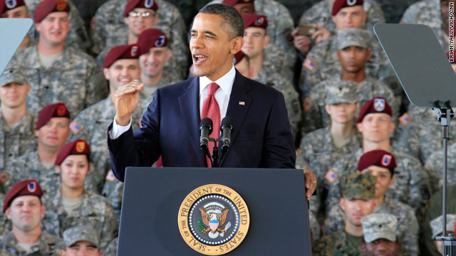 Obama to talk about military draw down