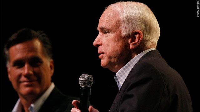 McCain to endorse Romney