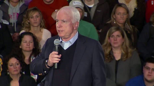 McCain chooses former foe Romney over Senate colleague Santorum