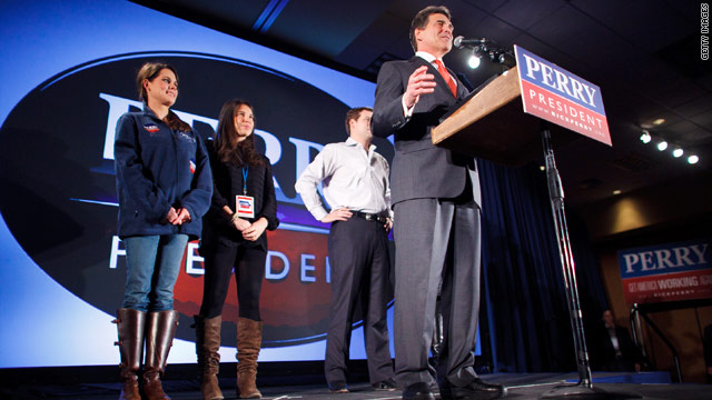 Perry will &#039;reset the campaign&#039; in South Carolina, adviser says