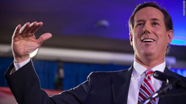 Iowa GOP emphasizes Santorum won Iowa