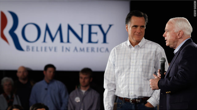 McCain courting former South Carolina backers for Romney