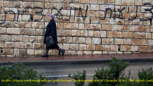 Sectarian divide in Israel