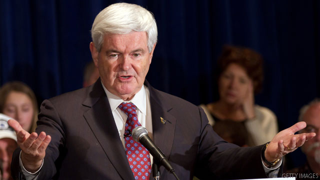 Gingrich derides Obama on jobs, new numbers aside