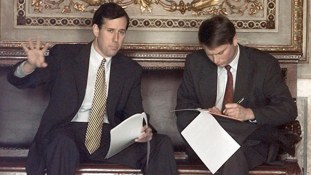Santorum did take earmarks, but he wasn&#039;t the only one