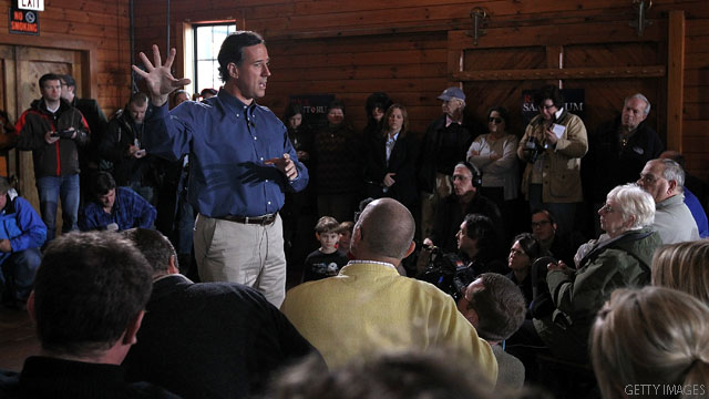 Santorum fundraising surge continues