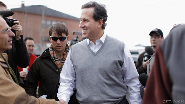 Pro-Santorum PAC in S.C. for $190k