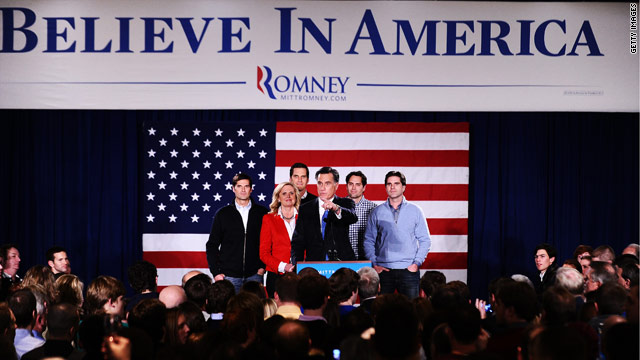 BLITZER's BLOG: Running for president is a family affair