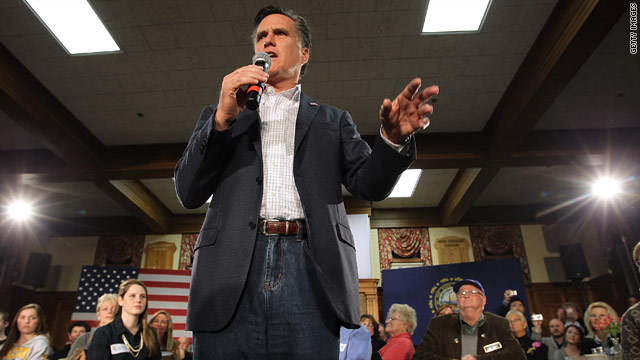 The context of Romney's remarks under 'fire'