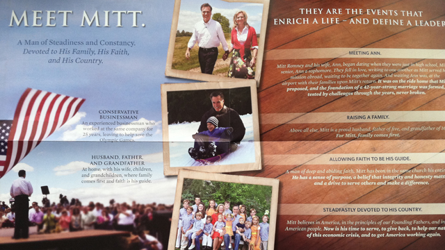 Romney embraces Mormon faith in South Carolina mail piece