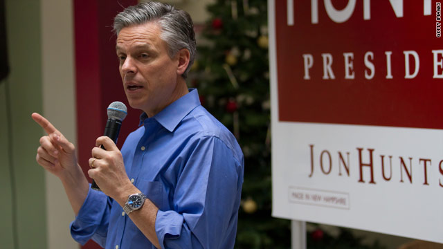 FIRST ON CNN: Huntsman to drop out of the race Monday, source says