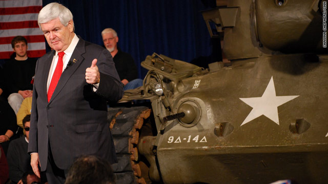 Gingrich in friendly attack-mode ahead of debate