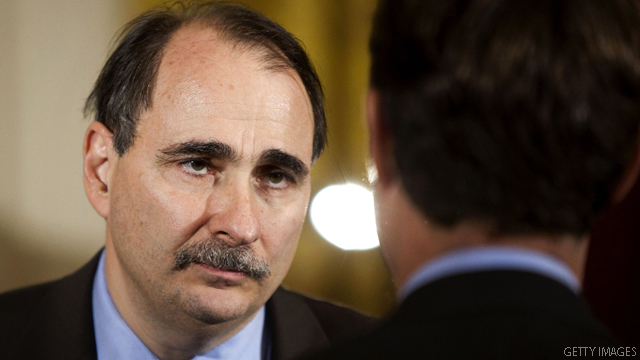 Axelrod: Romney's 'brazenness' at debate surprised Obama