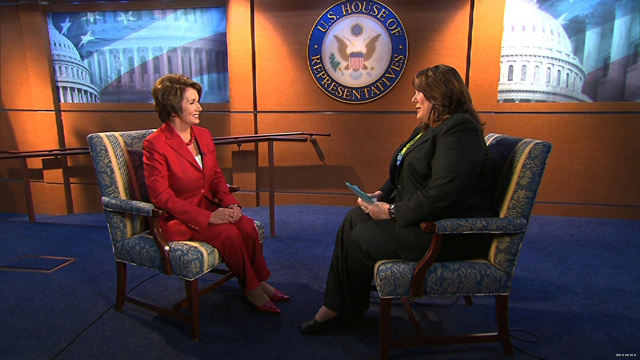 Pelosi: Obama should run against Congress